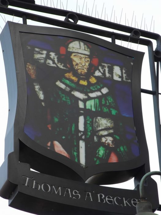 Becket Pub Sign In  Old  Kent  Road