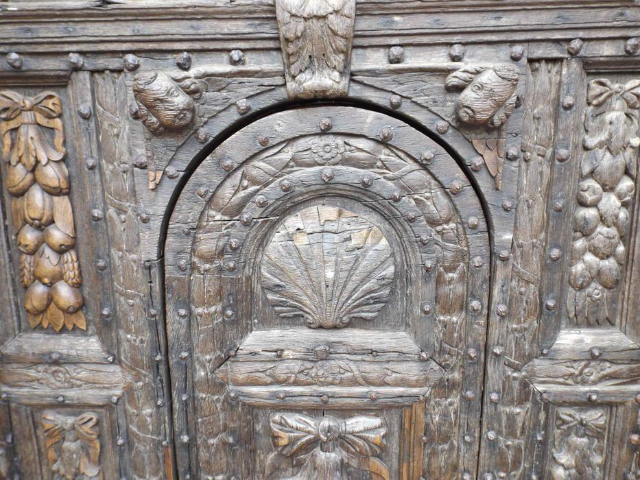 Pilgrim Door At  Canterbury