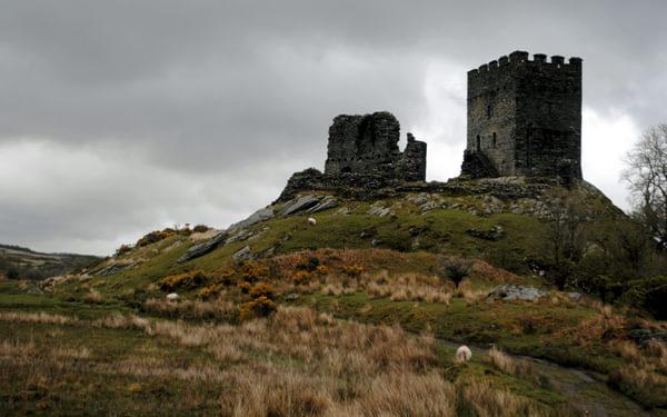 Dolwyddelan Castle Built By  Llewelyn The  Great