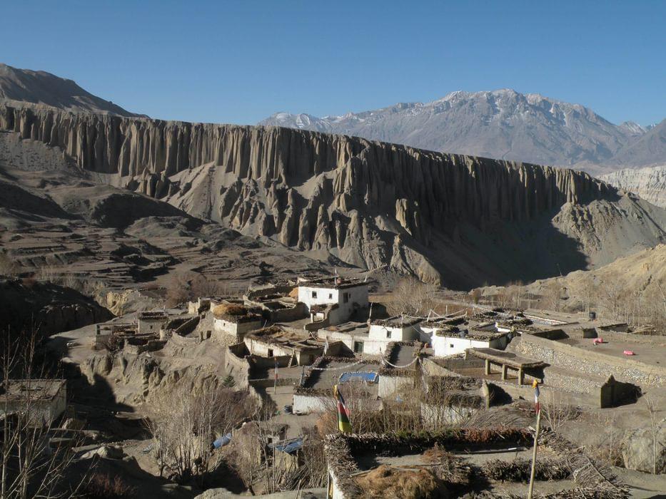 Mustang  Yara Village And Cliffs