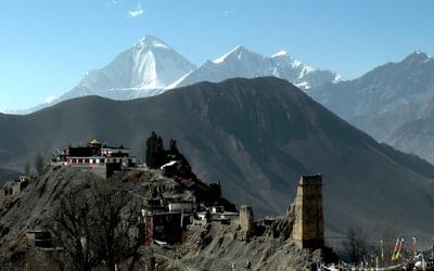 Trekking In The  Annapurna Region Of  Nepal
