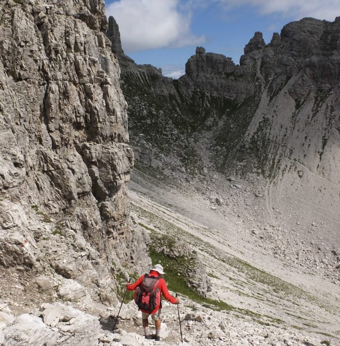 More Climbing And Descending Of Rugged Scree Slopes In This Beautiful Part Of The  Dolomites