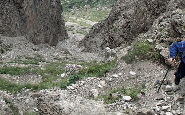 Passo Del  Mus In The  Dolomites