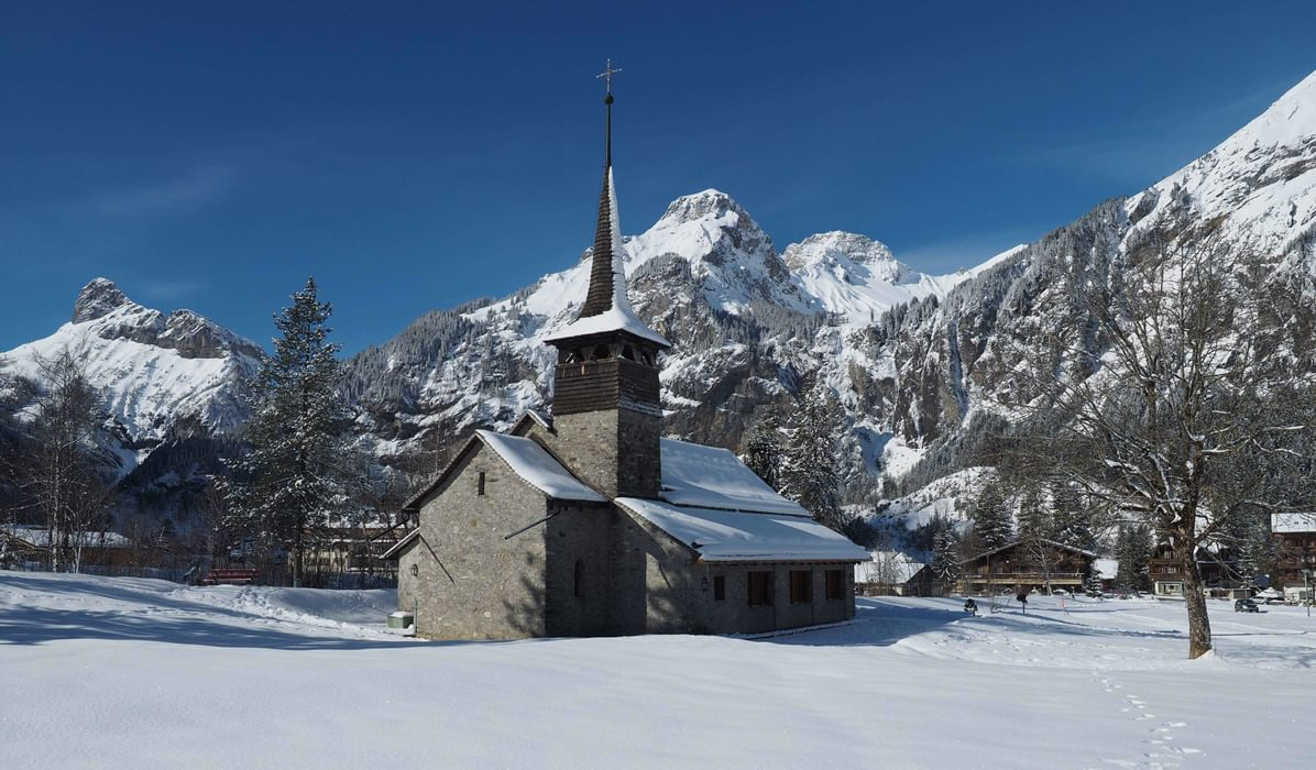 Church In  Kandersteg
