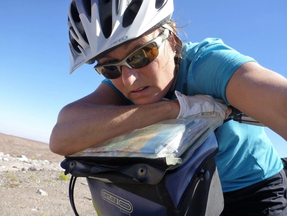 Feeling  Low While Cycling Through  Chile