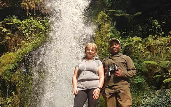 Waterfall  In  The  Nyungwe  Forest