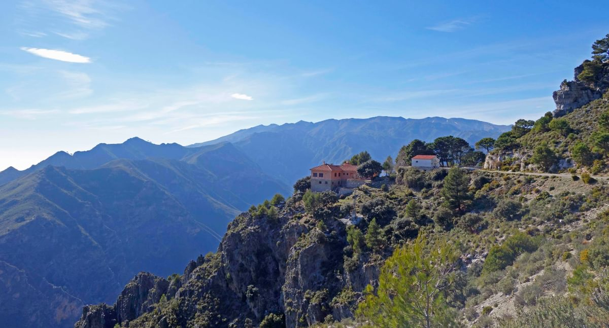 The  Sierras De  Tejeda  Mountains