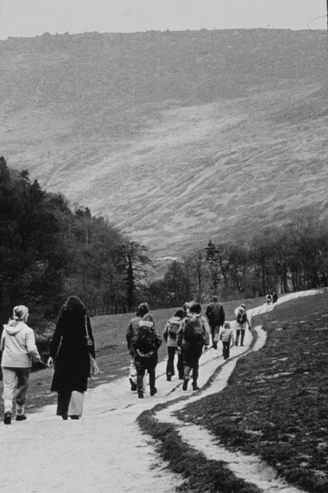 Grindsbrook  Meadows In  Edale  In  The 1970S