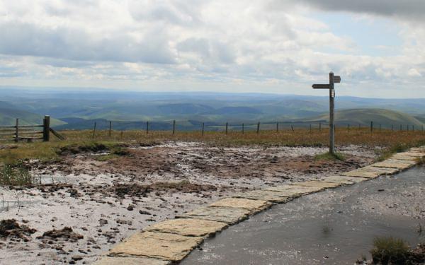 Pennine  Way Spur To  Cheviot Summit