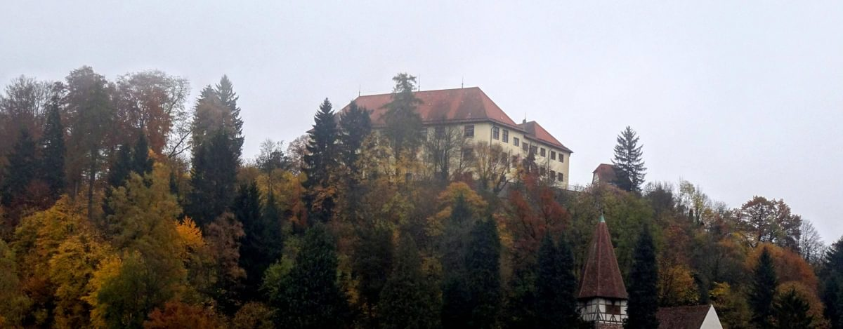 The Castle Of  Neuenburg On The  Westway