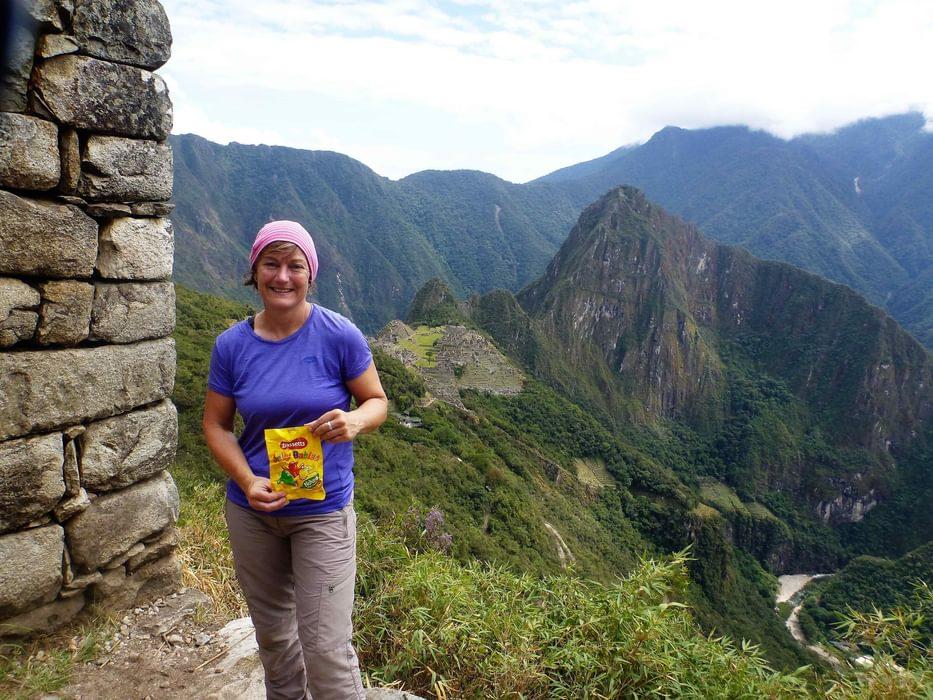Jelly Babies In  Machu  Picchu