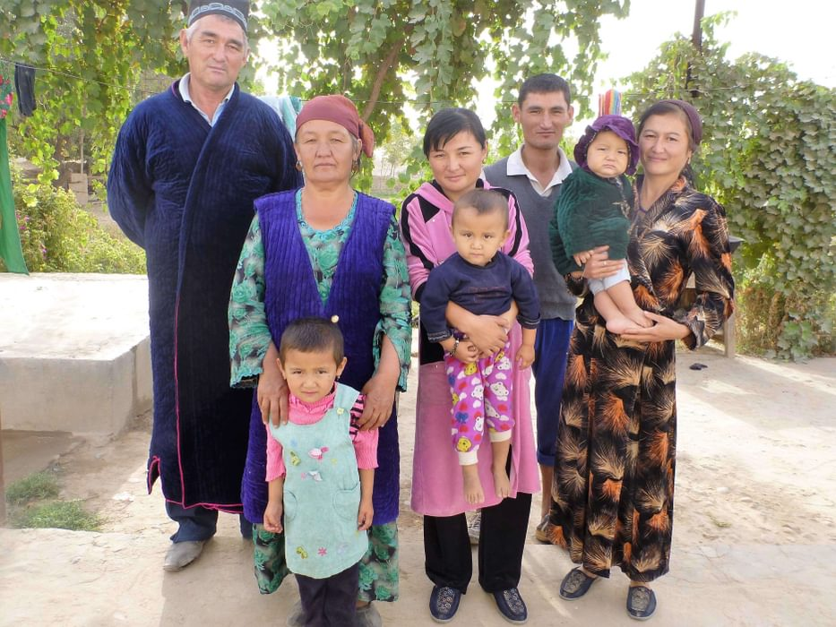 Uzbek Family Endless Kindness