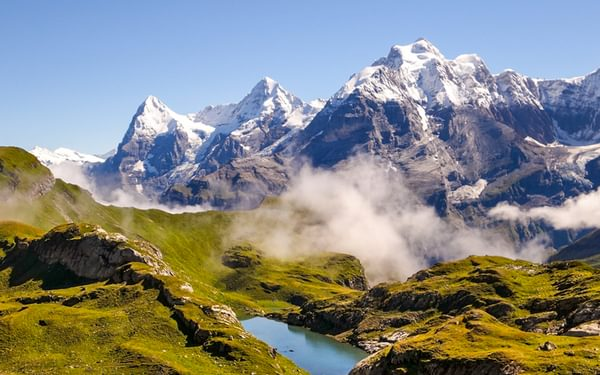 Header  The Giants Of The  Bernese  Oberland  Eiger  Monch And  Jungfrau