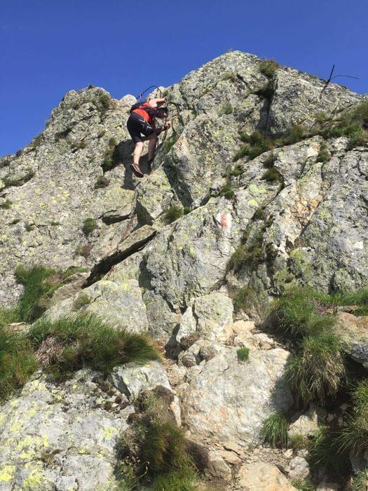 Rough Terrain In  Romanias Mountains