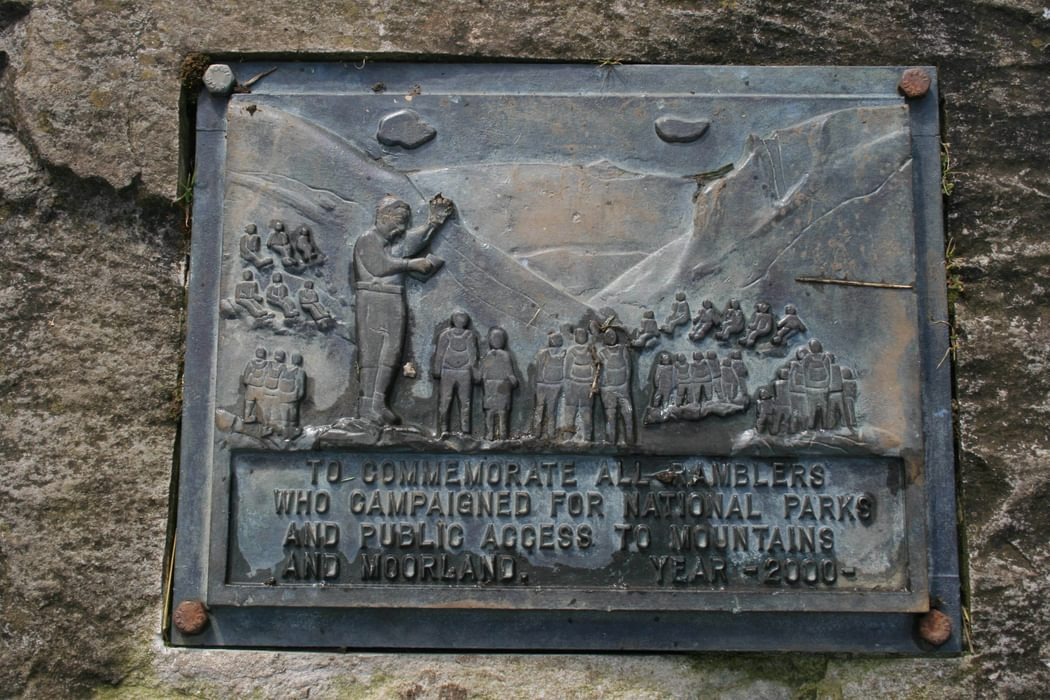 Pennine  Way Plaque