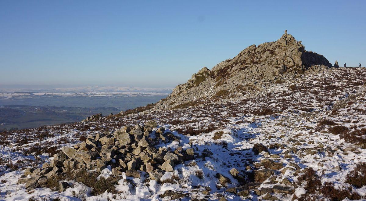 Manstone  Tor  Stiperstones Ridge