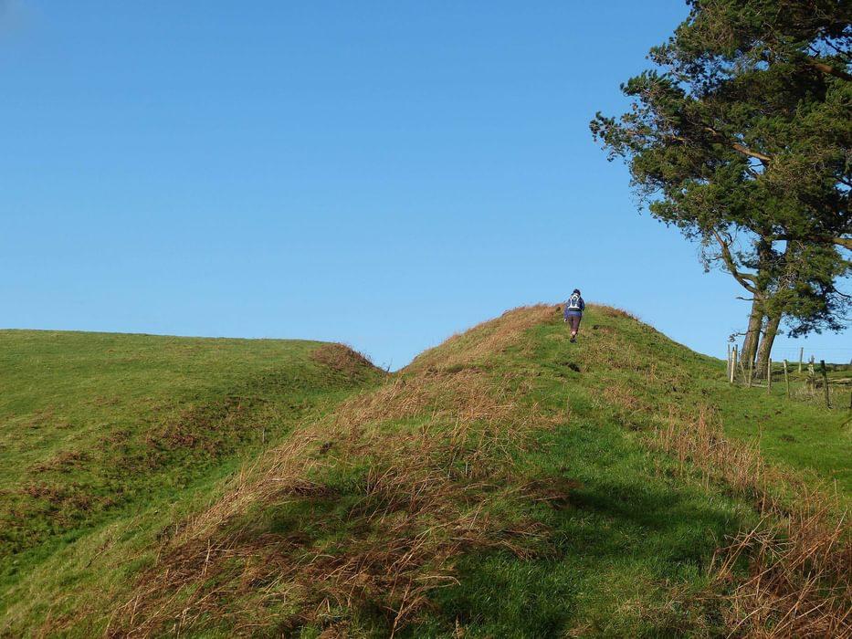 Offas  Dyke  Llanfair  Hill