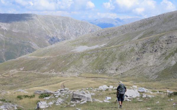 Ridge Walk From  Matsouki To  Aghia  Paraskevi
