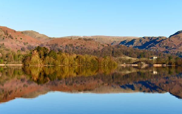 Cumbrian lakeshore