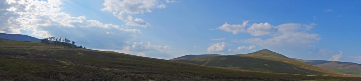 Panorama With  Skiddaw  House And  Great  Calva