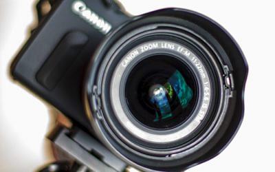 Use a wide angle lens