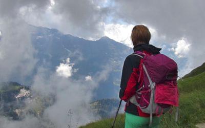 Ideal rucksack for trekking