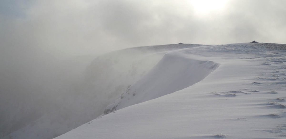 Nethermost Pike winter snow