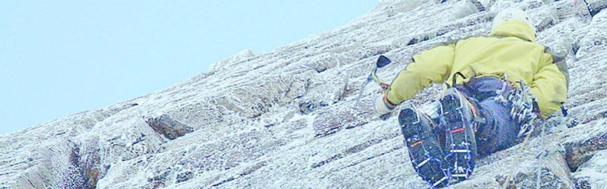 Lake District winter climbing