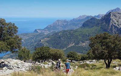 Descending from Cingles de son Rullan, Mallorca