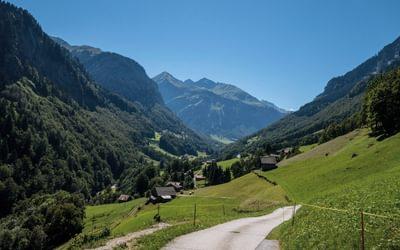 The valley towards Schwendi and Foopass