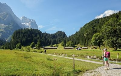 Approaching the Grosse Scheidegg