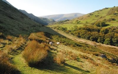 The Snowdonia Way is a quiet and remote route through lesser-know parts of Snowdonia