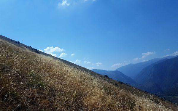 Descending Monte Prezza