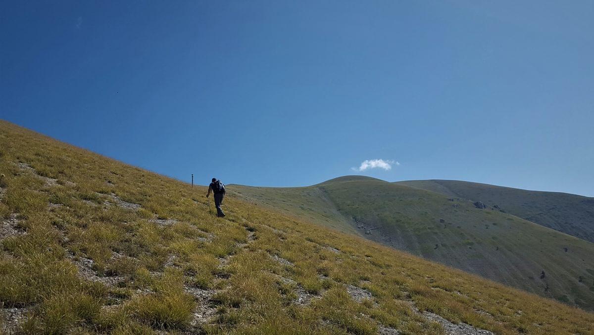 Monte Genzana ridge