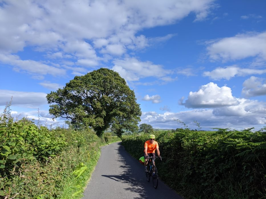 Cycling from home from Kendal
