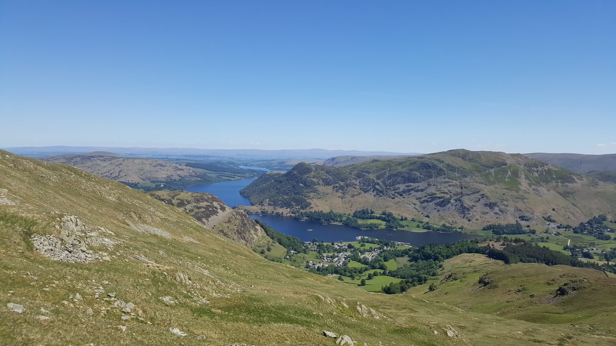 For Day 2 Helvellyn 2 Caption Ullswater from Birkhouse Moor