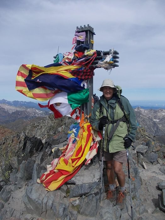 The author is the highest person in Catalonia on his second ascent of Pic d Estats