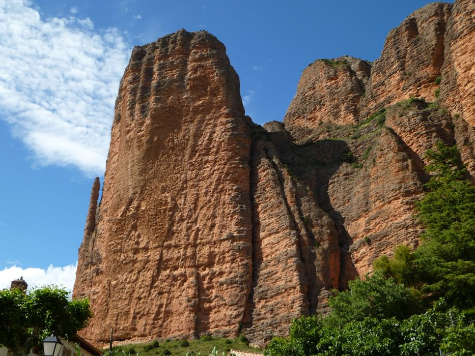 The mighty towers of Mallos de Riglos the authors local crag for five years