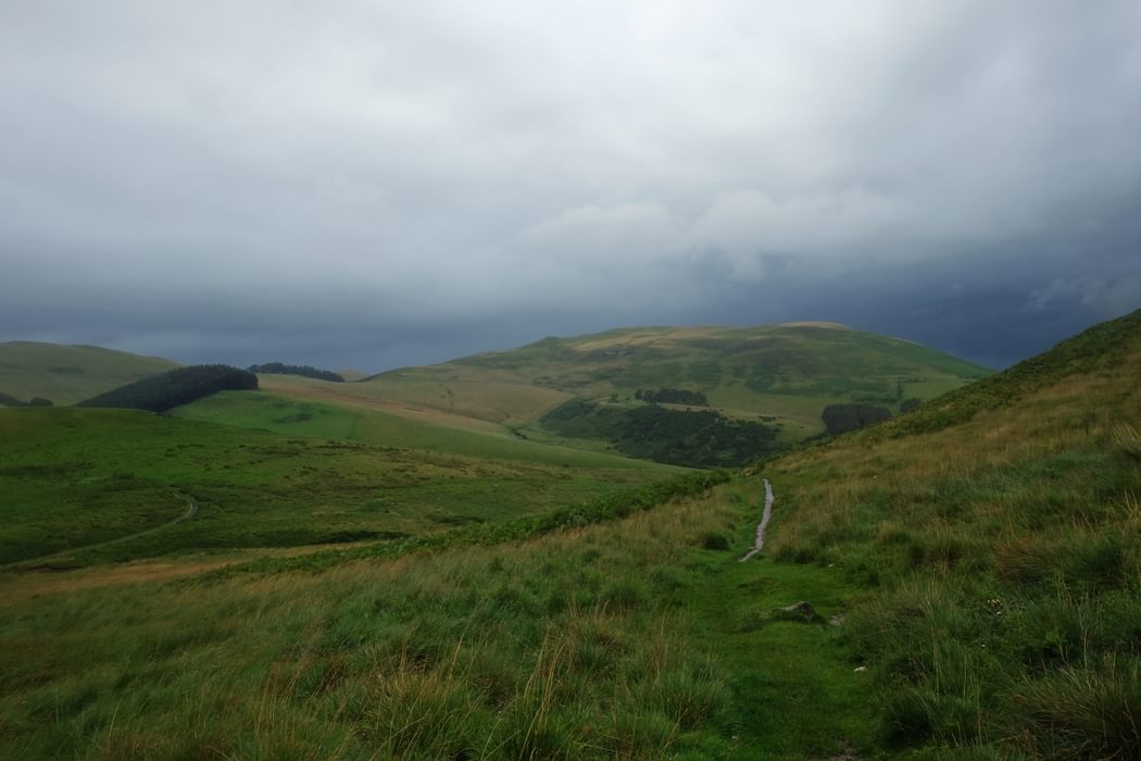 PW 20 Descent to Kirk Yetholm