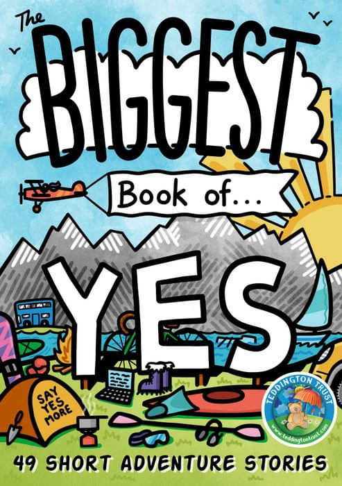 'The Biggest Book of Yes': cover by Tom Napper, tomnapperdesign.co.uk