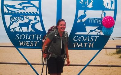 630 miles later: the end of the South West Coast Path at South Haven Point