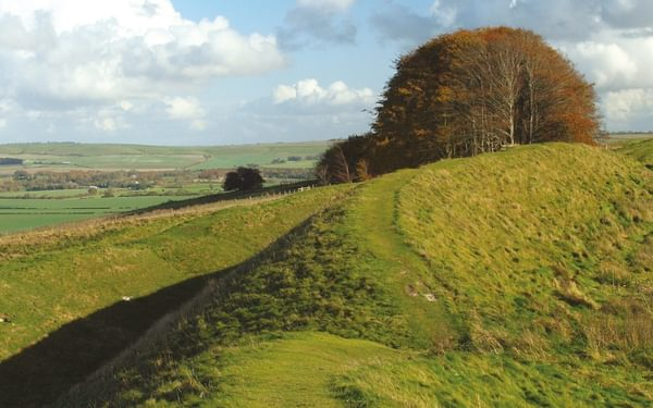 Iron Age earthworks of Barbury Castle