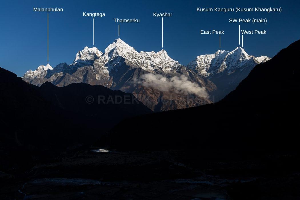 Bhote Koshi valley