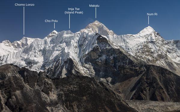 Imja Khola valley