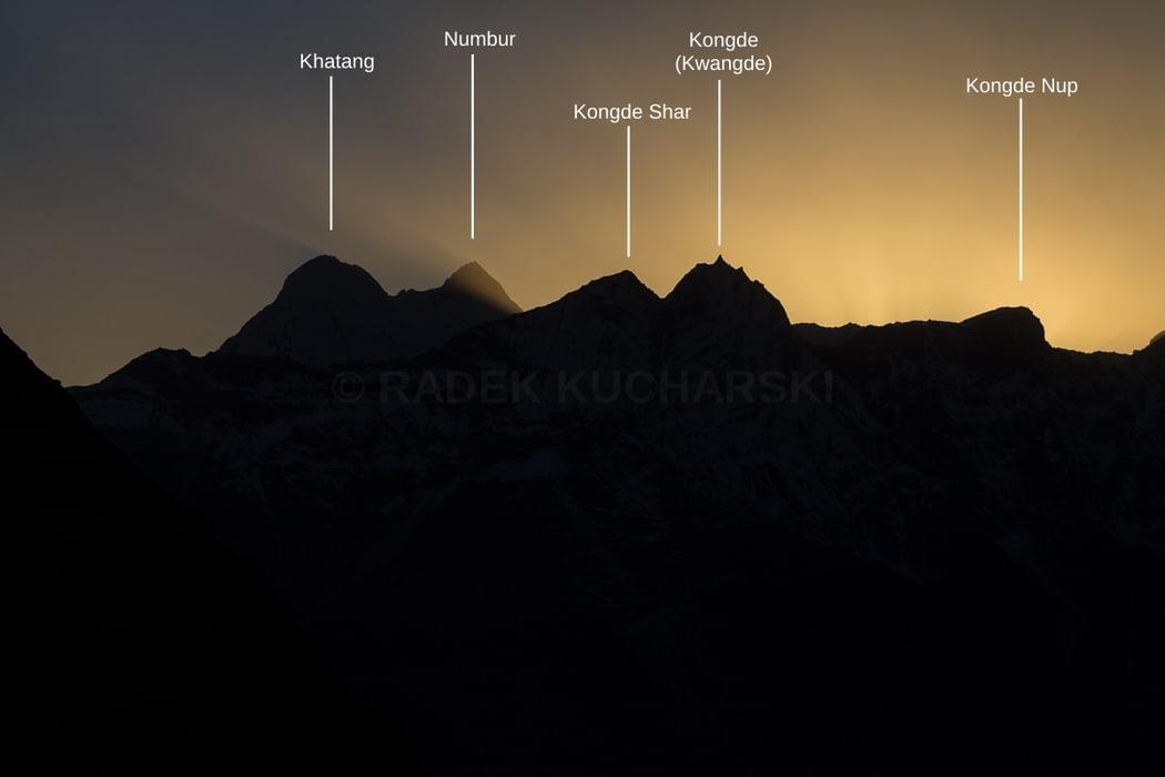 peaks of Rolwaling