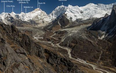 upper Imja Khola Valley