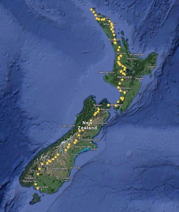 Te Araroa Route