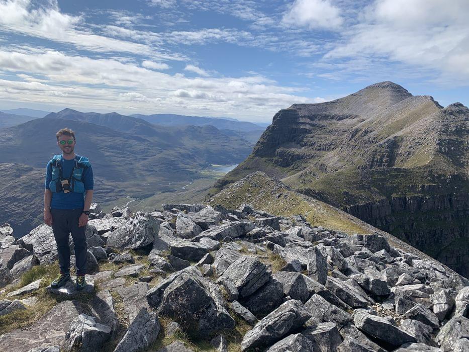 Spidean a Choire Leith, Liathach's highest summit