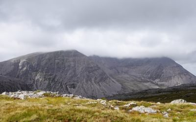 The iconic Corbett of Arkle becomes visible