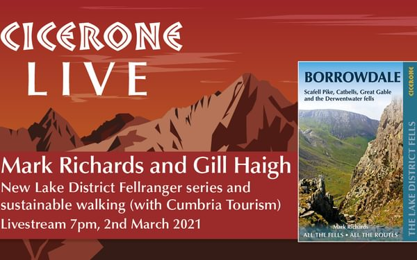 Mark Richards and Gill Haigh live